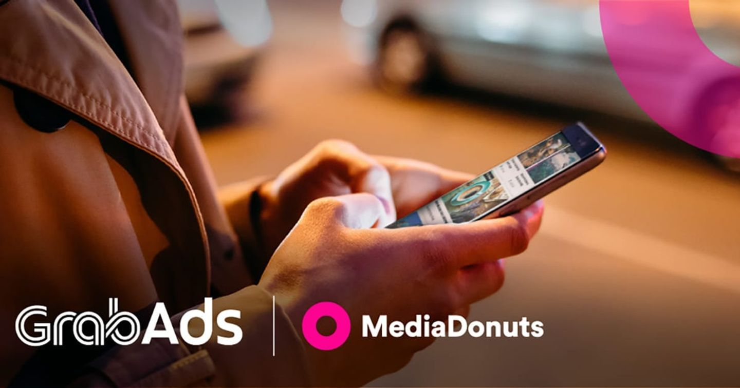Grab Appoints MediaDonuts As The Official Ads Partner