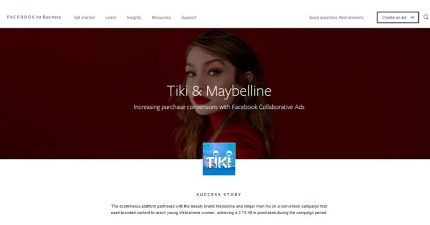 Tiki Goes With Vietnamese Stars partners with Facebook in MV-Commerce campaign first time ever in APAC