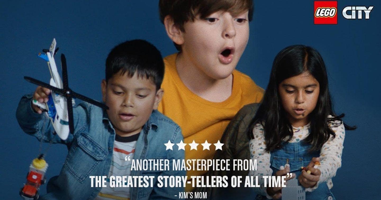LEGO làm phim từ trí tưởng tượng của trẻ em