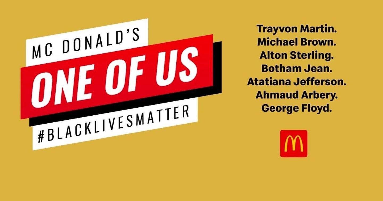 McDonald's ra mắt video tưởng nhớ George Floyd và người da màu