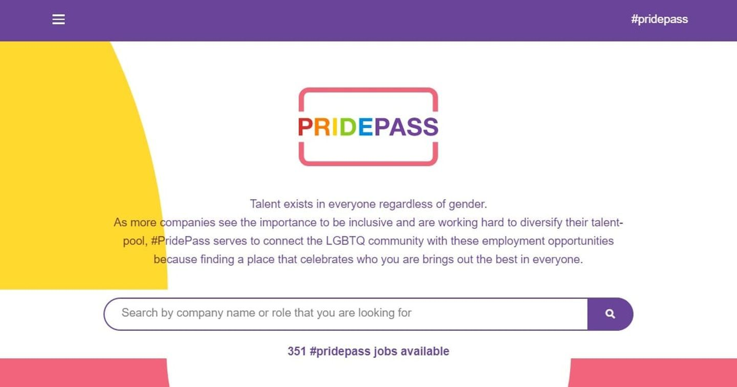 ManpowerGroup Singapore & VMLY&R Launch #PridePass to Help LGBTQ Individuals Find the Perfect Job with Inclusive Companies
