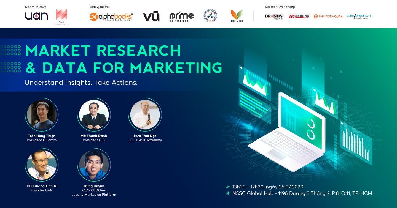 Seminar/ Workshop: Market Research & Data for Marketing