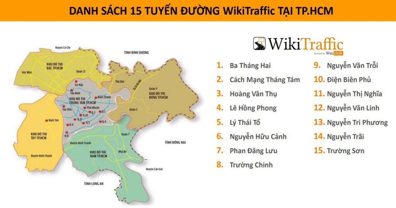 Ra mắt Wiki Traffic - Cung cấp dữ liệu lưu lượng giao thông toàn quốc