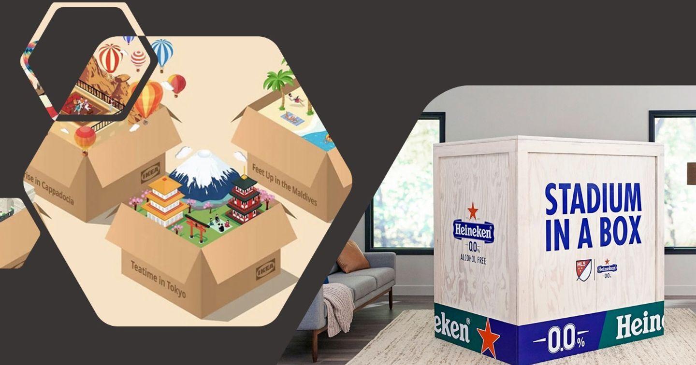 Ikea và Heineken: Chiến dịch đưa trải nghiệm đóng vào hộp