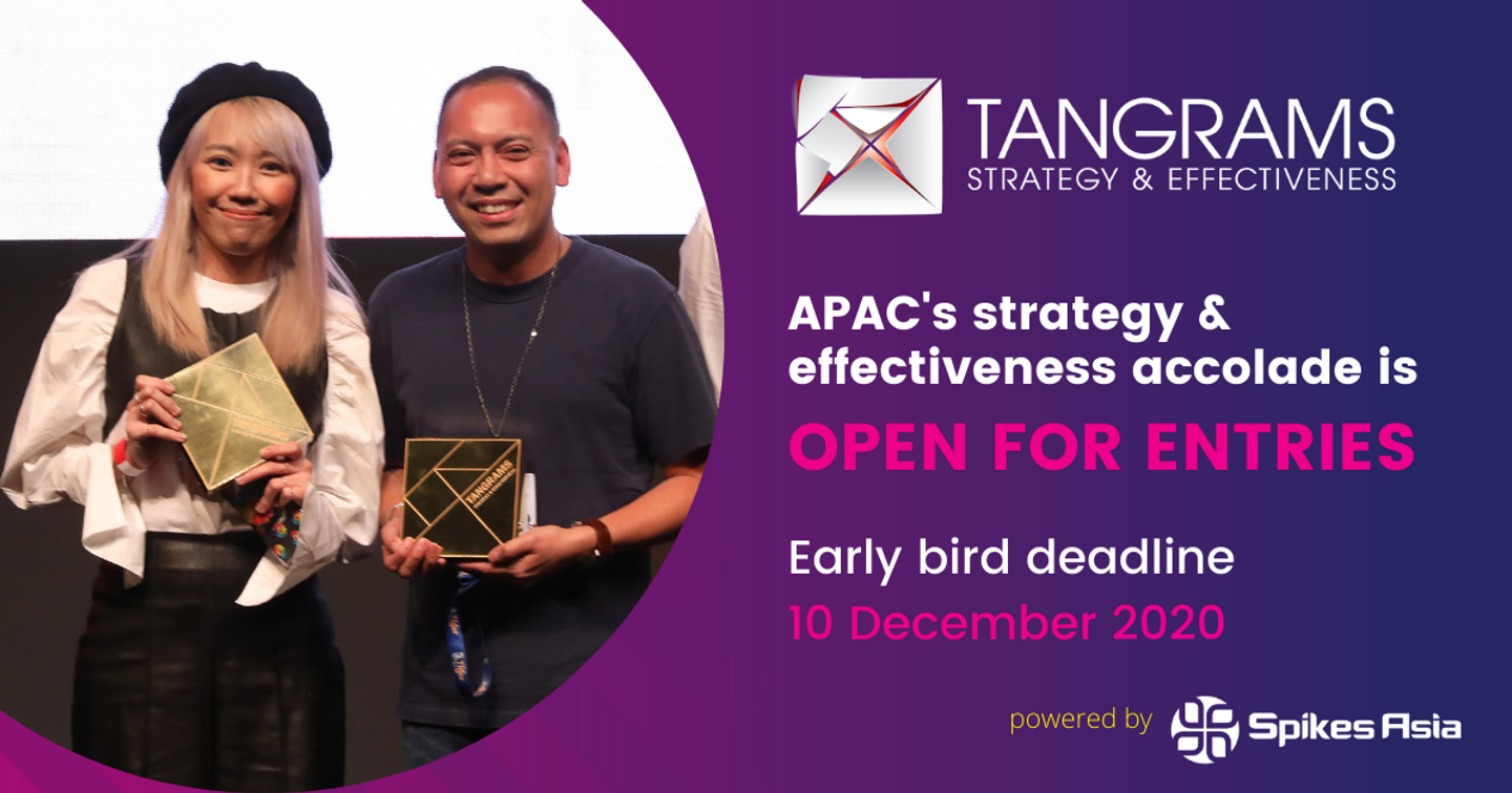 Tangrams Strategy & Effectiveness Awards 2021 Call for Entries