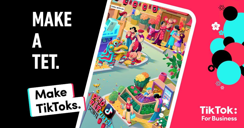 """TikTok tổ chức buổi tọa đàm trực tuyến """"Make A Tet. Make TikToks."""""""