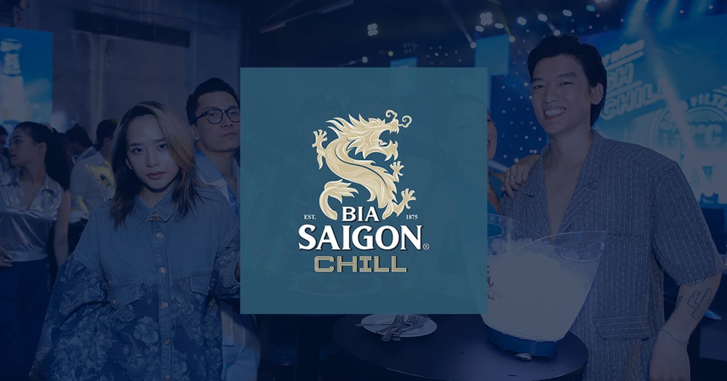 SABECO Launched New Bia Saigon Chill With The Deep -2-degree Cold Filtered Technique