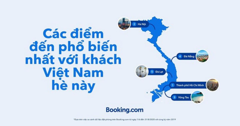 Booking.com công bố xu hướng du lịch nội địa tại Việt Nam trong thời gian qua