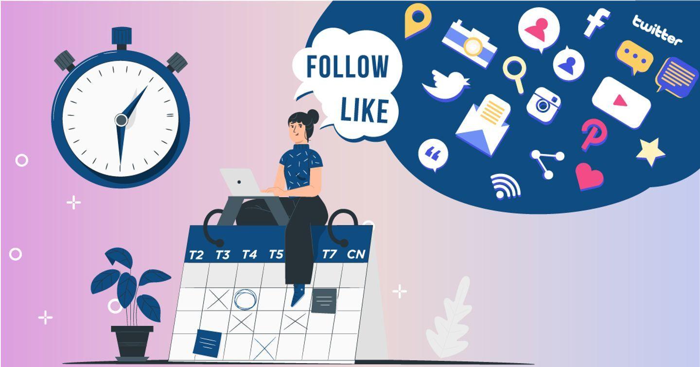 [Infographic] Thời điểm tốt nhất để đăng bài trên mạng xã hội trong năm 2020