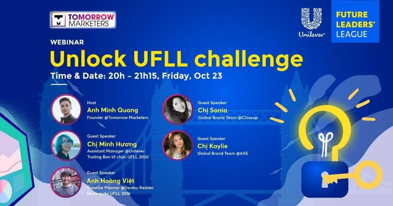 "Tomorrow Marketers phối hợp cùng Unilever tổ chức Webinar ""Unlock UFLL Challenge 2020"""